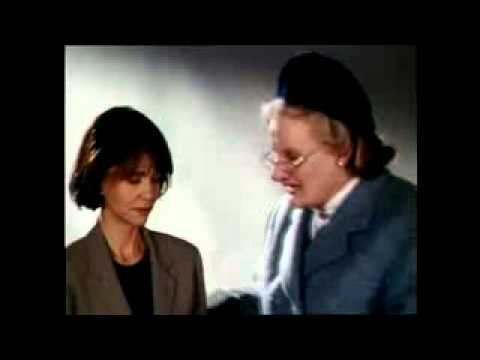 Robin Williams♣Remembering Mrs Doubtfire rehearsals funny interview