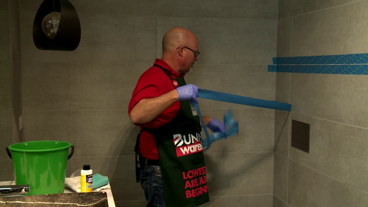 How To Seal Grout - D I Y  At Bunnings