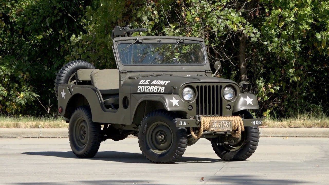 1953 willys pick up wiring schematic 1953 willys m38a1 military jeep sold 136591 youtube  1953 willys m38a1 military jeep sold