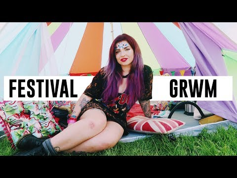 A CHATTY REAL FESTIVAL GRWM | Download 2017