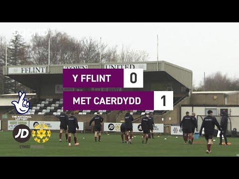 Flint Cardiff Metropolitan Goals And Highlights