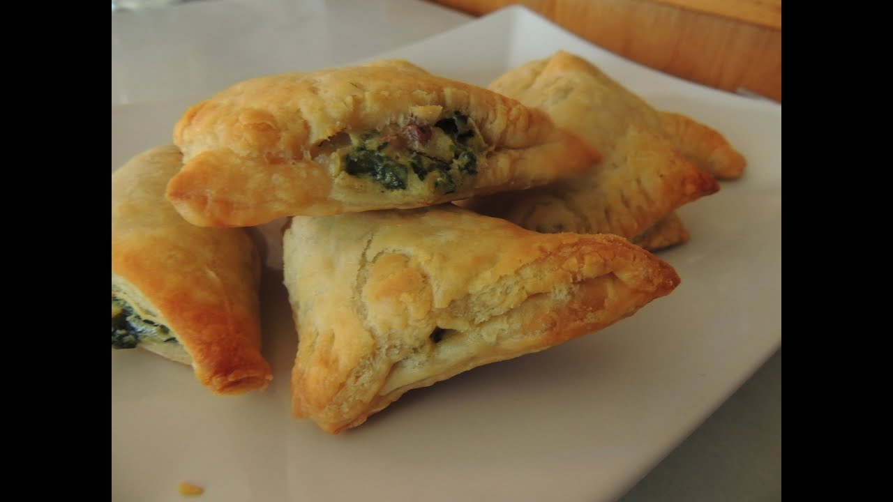 Spinach puffs recipes easy