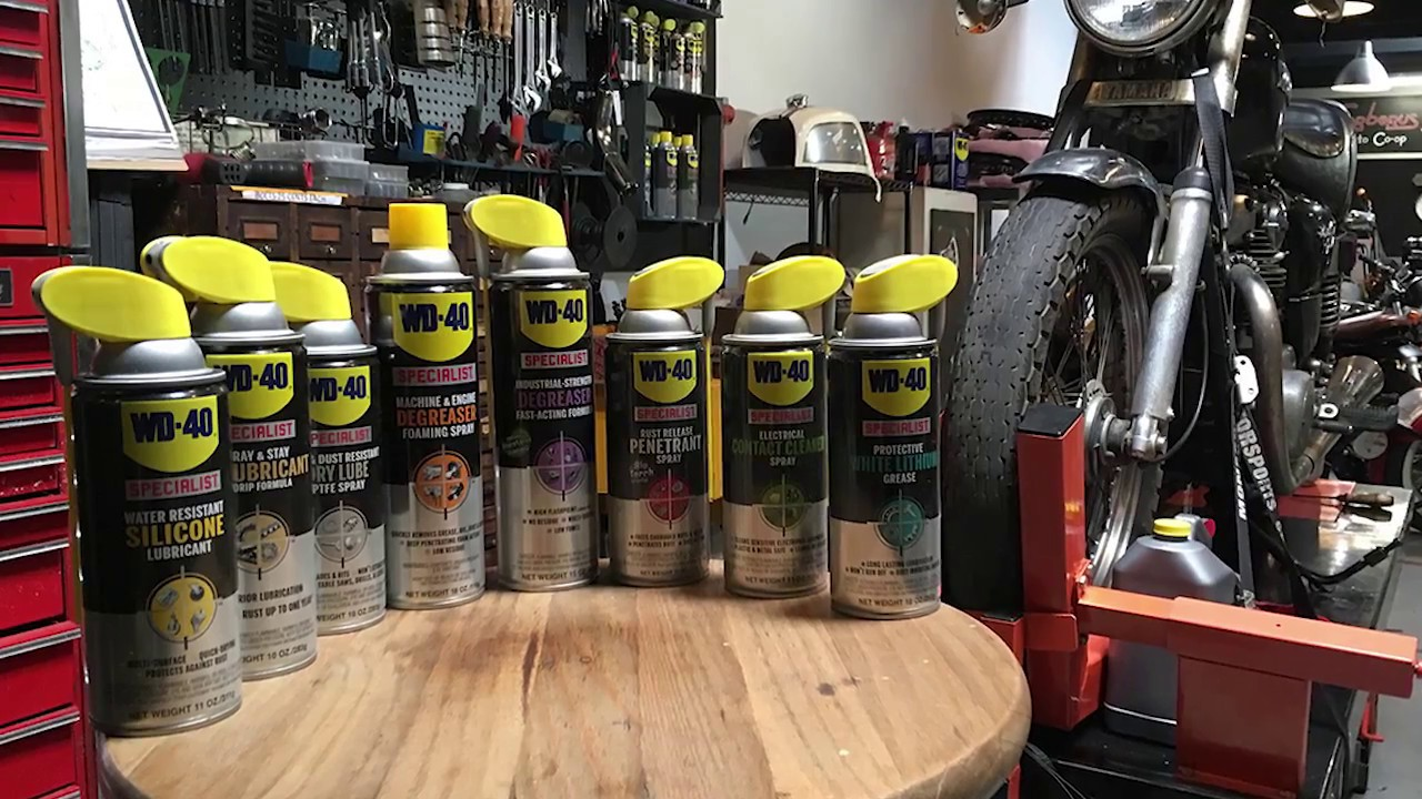 products used building the wd 40 specialist athena motorcycle youtube. Black Bedroom Furniture Sets. Home Design Ideas