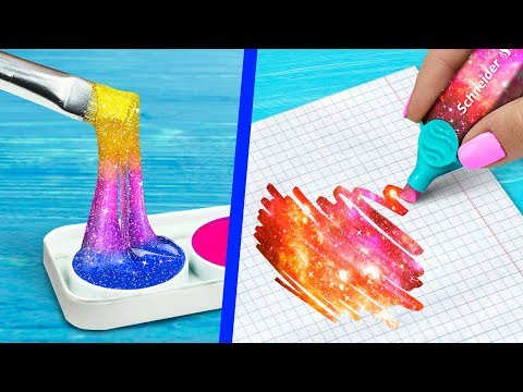 10 DIY Unicorn School Supplies vs Elf School Supplies Challenge!
