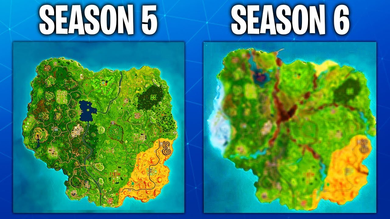 Fortnite Season 6 Map Leaked Fortnite Battle Royale Youtube