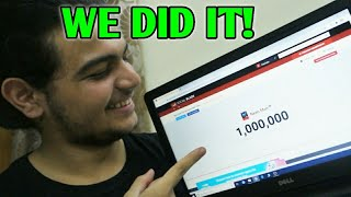 The Day We Hit 1 MILLION Subscribers!   Neon Man 360