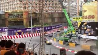 Macau accident 2018 - horror crash only angle - Sofia Florsch