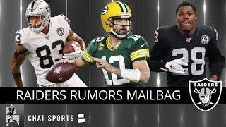 Raiders Trade Rumors, Darren Waller, Raiders vs. Packers Preview & Josh Jacobs Run Game
