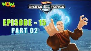Motu Patlu presents Hot Wheels Battle Force 5 - Double Down - Episode 15-P2 - in Hindi