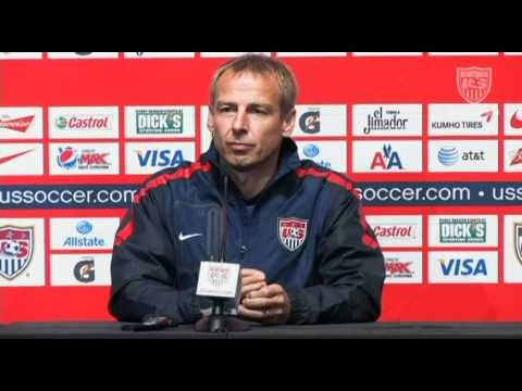 MNT vs. Mexico: Pre-game Press Conference - Aug. 9, 2011