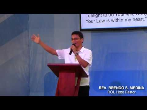 YOUR WILL BE DONE IS A CHOICE!   Rev Brendo S Medina