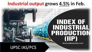 Index of Industrial Production [IIP]   || UPSC    |SPOT SUCCESS