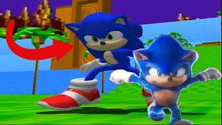 MOVIE SONIC in Sonic Adventure 2! (Mod Showcase)