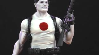 Unboxing Valiant's Bloodshot 1/6 Collectible Statue