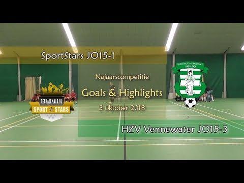 SportStars JO15-1 - HZV Vennewater JO15 -3 (5 oktober 2018)