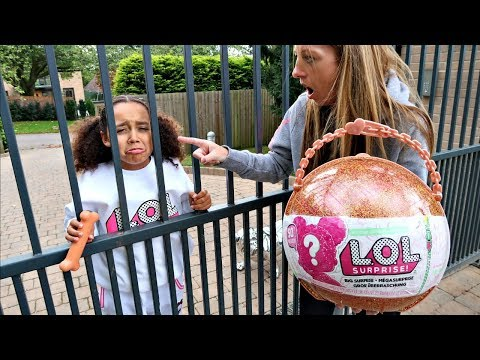 TIANA'S LOL SURPRISE DOLLS ESCAPED FROM JAIL!!