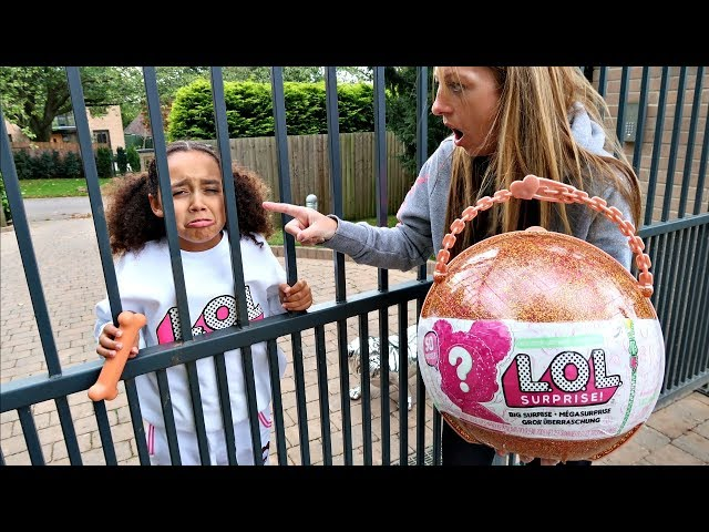 tiana s lol surprise dolls escaped from jail youtube tiana s lol surprise dolls escaped from