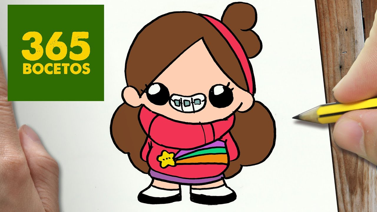 Möbel De Com : como dibujar mabel de gravity falls kawaii paso a paso dibujos kawaii faciles draw mabel ~ Watch28wear.com Haus und Dekorationen