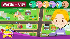Kids vocabulary - Town - village - introduction of my town