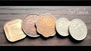 Few Old & Rare Sri lankan Coins | Old Sri lanka Coins