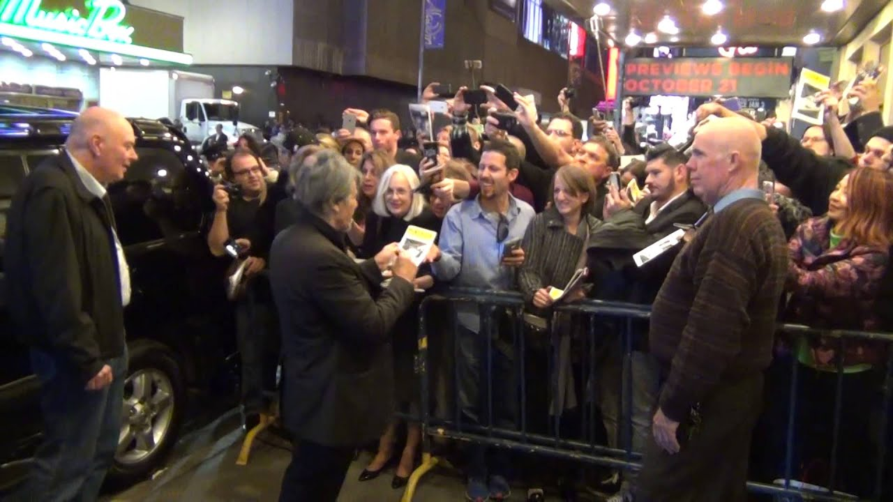 Al pacino greets fans china doll opening week broadway youtube m4hsunfo