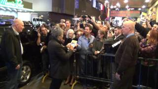 Al Pacino Greets Fans China Doll Opening Week Broadway