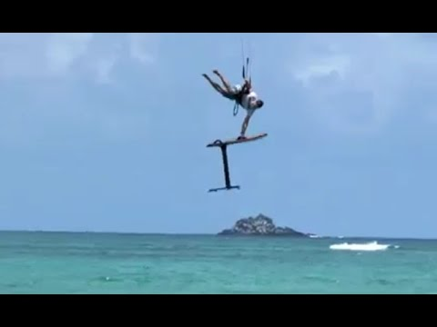 Kite Hydrofoil Big Air with Ben Corbett