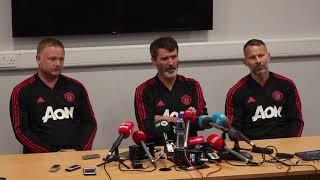 Liam Miller Tribute: Manchester United XI full pre-match press conference
