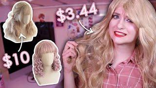 Trying On CHEAP Taobao Wigs   AnyaPanda