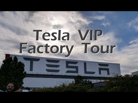 Tesla VIP Factory Tour & Giveaway