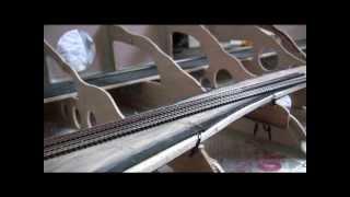 N Gauge Folding Model Railway Part One
