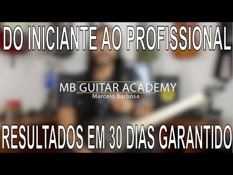 mb guitar academy do inicio
