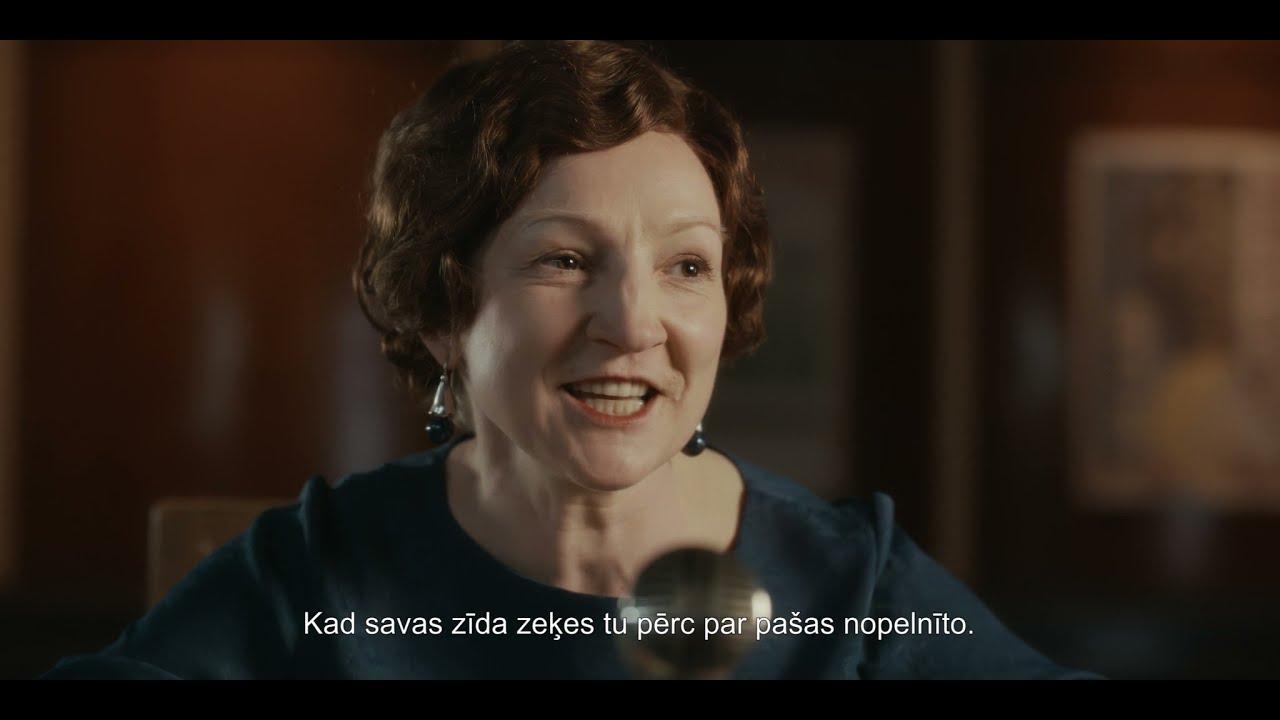 """""""Emīlija. Latvijas preses karaliene"""" kino treileris"""