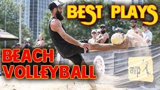 TOP Beach Volleyball Plays | The McKibbin Bros AVP Manhattan Beach 2018
