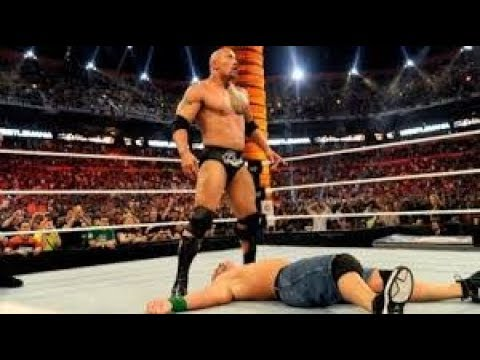 WWE Raw 11 September 2017 The Rock Return and with John Cena attack Braun Strowman *GONE WRONG*