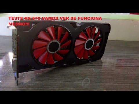 RX 570 COMPRADA NO ALI EXPRESS FUNCIONOU? [REVIEW]