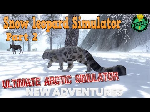 🐆Snow Leopard Simulator-Part 2-Ultimate Arctic Simulator-By Gluten Free games-IOS/Android