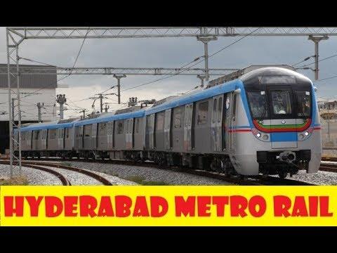 Hyderabad Metro Rail || Telangana || First Day Ride