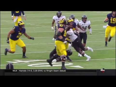 2016 Michigan Football Highlights v UCF