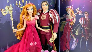 "D23 Giselle & Edward Midnight Masquerade Series ""Designer Collection"" Doll Review"