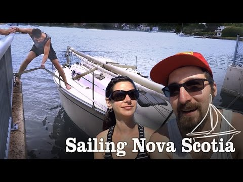Boat Launch: Sink or Swim?  [ Ep1 - Sailing Nova Scotia ]