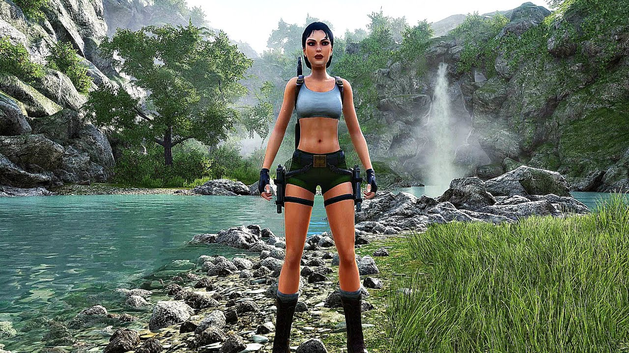 TOMB RAIDER 2 REMAKE Gameplay Walkthrough FULL DEMO (4K 60FPS) Dagger of Xian