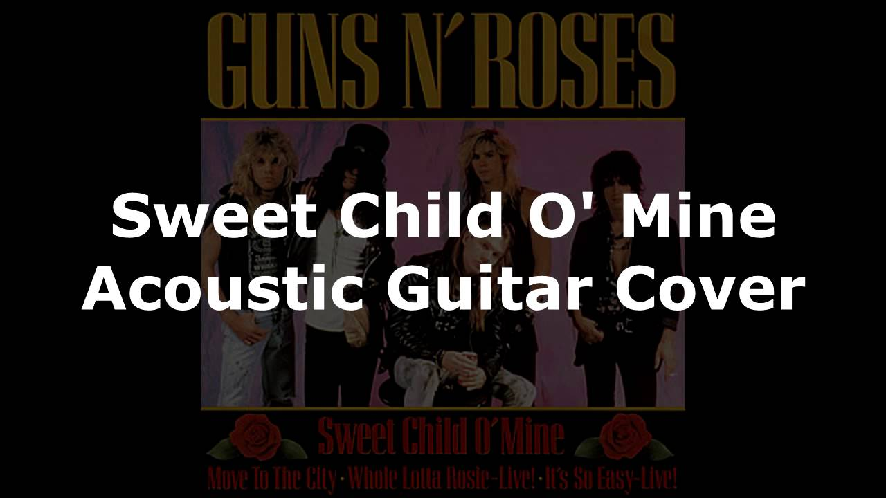 sweet child o 39 mine acoustic guitar cover audio only youtube. Black Bedroom Furniture Sets. Home Design Ideas