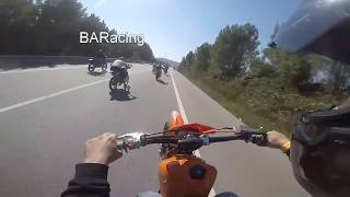 Yamaha dt 100cc  Amazing power   by BARacing vs others
