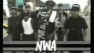 Fab 5 Freddy visits NWA in Compton