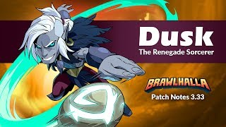 Dusk & the Orb Come to Brawlhalla! - Patch Notes 3.33