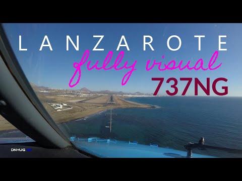 Lanzarote Noseview Landing