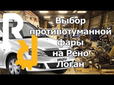 Renault sandero stepway противотуманная фара