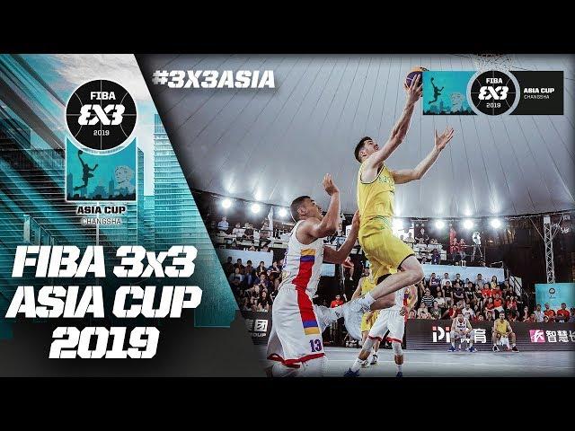 LIVE 🔴 - FIBA 3x3 Asia Cup 2019 - Day 5 - Changsha, China
