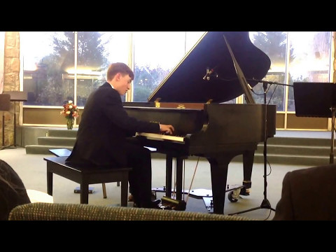 Sammy Maddox - Winner of 2017 EPSMF Competition for Young Musicians Piano Performance (May 6, 2017)